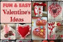 Valentine's Day Ideas / The best Valentine Day ideas for food and gifts.  Valentine's day crafts for kids too!