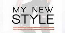 My New Style / Sexy. Minimalist. Chic. Lux. Feminine.   Fashion/Style Moodboard