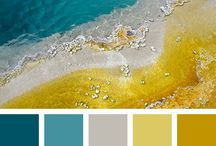 Color Palettes I Like / Color combinations to use in artwork and home decoration.