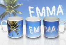 Personalised Mugs / A range of mugs for your kitchen or office, make perfect gifts and all our personalised.