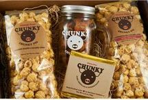 #ChunkyPigLOVE / Sharing our #ChunkyPigLove! Follow this board for all things Chunky Pig: Candied Bacon Caramel Corn.  SHOP NOW: http://www.chunkypiglove.com/