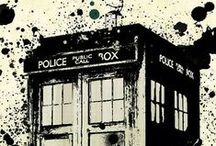 Doctor Who / I didn't want you to go either, David.  / by Anna Cramer