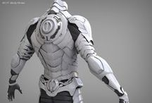 Reference Armour, Clothes and Accessories / References of Armour, Clothes and Accessories