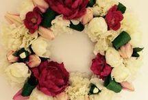 Flower wraths / Flower spring wreaths