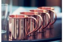 «Copper and Rose Gold» / Our favorite metals!!