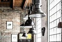 «Industrial Style Interiors» / The Industrial trend doesn't look like it is going anywhere.