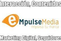 eMpulseMedia / #tablero de #pinterest oficial de www.eMpulseMedia.com, agencia de #marketingdigital, #publicidad e impulsador de ventas a través de las #redessociales e #internet