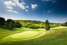 Haute-Normandie : France. / Region Haute-Normandie _ France.  Sport - Golf.  Golf Photography.