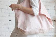 linen bags / linen bags inspirations
