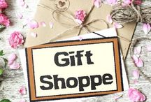 "Gift Shoppe / ""When you buy from a small business, an actual person does a little happy dance."" Anonymous"