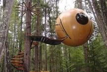 Treehouses / Nurturing a childhood dream.