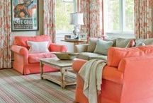 Coral, Salmon / Inspiration in colours: Coral, Salmon