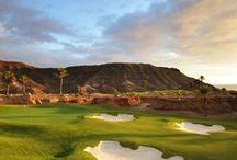 Golfresor till Gran Canaria / Golfresor till Kanarieöarna som har världens bästa klimat, som den bästa svenska sommar året om.