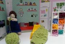 Knitted Odyssey / Knitted dolls; characters inspired by Homer's Odyssey
