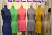 PGM Color Design Dress Form / Unleash the power of artistic custom color design on a PGM dress form