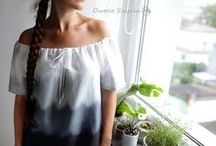 Szycie | Sewing - moje owoce szycia / Przedmioty uszyte na maszynie przeze mnie, filmy o szyciu | Things sewed by me, youtube films about sewing