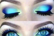 color your eyes / eye make-up | colorful | inspiration | tutorial | beauty | eyeliner | eye shadow