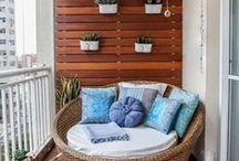 Sweet Balcony Space