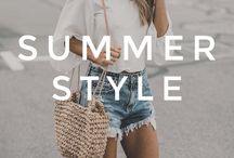 Summer Style - Outfit Ideas / Fashion just for the hot weather.  Group Board -  comment below for an invite :)