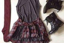 CLOTHING AESTHETIC / clothing inspiration / grunge / aesthetics