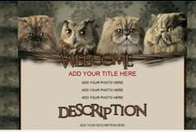 Animal eBay Auction Templates / ebay Auction Templates using animal themes and designs. From dogs and cats to lizards and wolves. Unleash the animal in your listings....