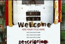 Grunge Auction Templates / Grunge out your ebay auction listings with these perfectly designed Grungy Auction Templates.