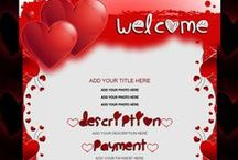 Valentine / Love Auction Templates / Show some love with your eBay auction listings. Valentine's or just because.