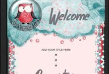 Whimsical Auction Templates / Fun and whimsy auction templates to welcome your shopping customers by putting a smile on their faces.