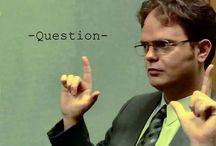 Dwight K Schrute. Best character ever - fact! / An outlet for my obsession with Dwight :)