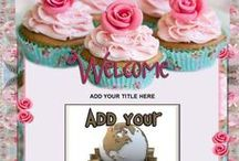 Food & Fiesta Auction Templates / Crave your shoppers hunger with some very sweet and appealing auction templates.
