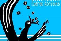 Downtowncoffeeroasters / Coffee is downtown