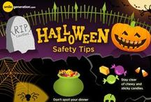 Halloween Fun and Safety / What a fun time of the year! Check out some fun costumes and lots of safety tips for keeping the children safe this Halloween.