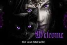 Dark eBay Auction Templates / Bring a little dark mystery to your listings with these eye catching dark auction templates.