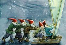 gnomi tomte tonttu elfi pixie