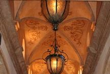 Groin Ceilings / Decorative Effects on Groin Ceilings with Stencils, metallics, etc.