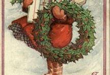 cartoline natale inverno neve / cartoline