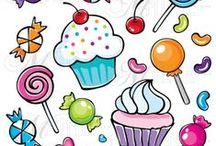 f.dolci gelati / pattern