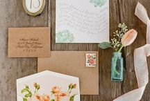 Wedding Stationery / Weddings + paper touches