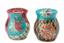 set sale e pepe, Salt and Pepper Shakers / ceramic