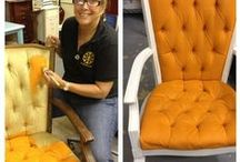 Before and after / Before and after furniture painting with Chalk Paint® decorative paint by Annie Sloan.
