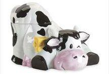 ceramic animali mucche maiali gufi ecc / oggeti / by armando dellapimpa