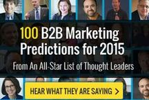 #B2B2015 / 100 B2B Marketing Predictions from the Industry's Top Thought Leaders