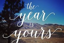 2016 : The Year is Yours / The Year is Yours : What will you do with it?