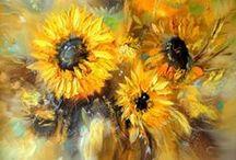 Art ~ Yellow - golden / by ⚑ ᘻaya  ⚑