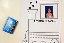 The Little Engine That Could - March 2015 / March Ivy Kids kit featuring the book The Little Engine That Could by Watty Piper
