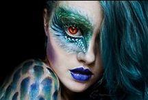 prosthetic&fantasy makeup