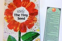 The Tiny Seed by Eric Carle - April 2015 Ivy Kids kit / Ivy Kids Subscription box for hands-on learning! Over 10 fun and creative math, science, and literacy activities based upon the children's book The Tiny Seed by Eric Carle. Monthly book based subscription box to build creativity, problem solving and critical thinking.