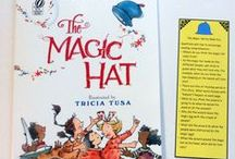 The Magic Hat by Mem Fox - May 2015 Ivy Kids kit / Ivy Kids kit featuring the book The Magic Hat and over 10 activities inspired by the story.