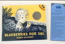 Blueberries for Sal by Robert McCloskey - June 2015 Ivy Kids Kit / Ivy Kids monthly subscription box for children ages 3-8. June's Ivy Kids kit features over ten fun, creative, and educational activities inspired by the story Blueberries for Sal.
