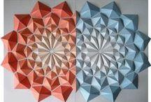 origami mosaics